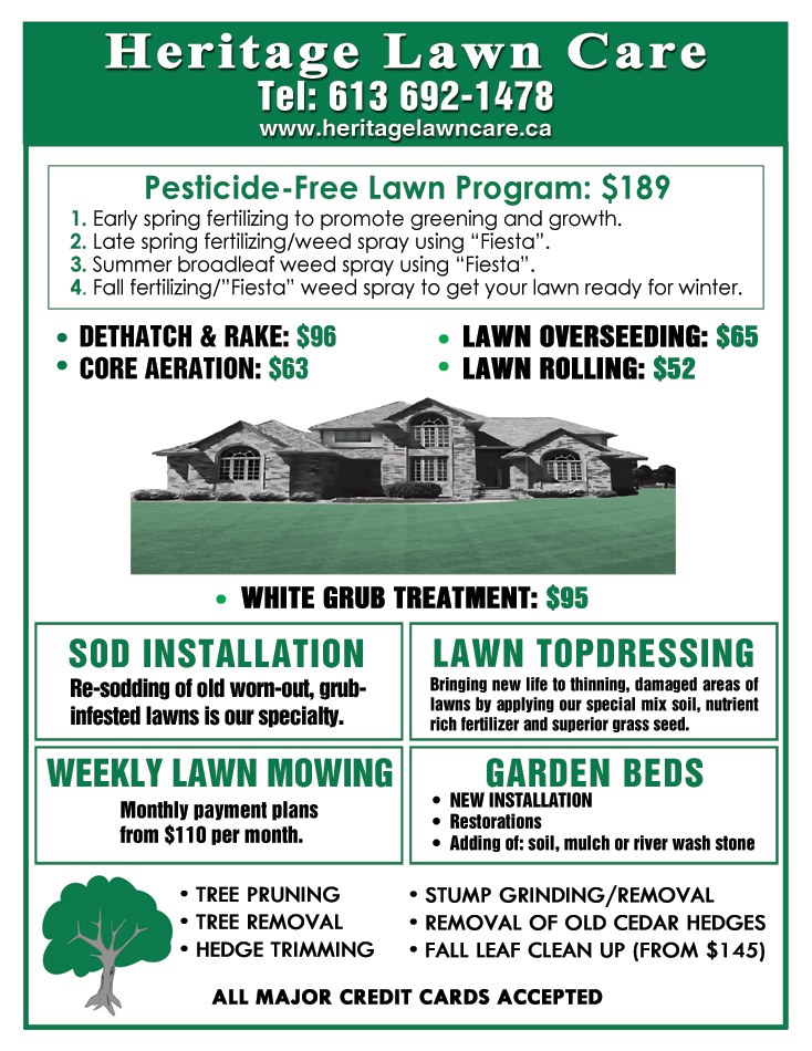 Lawn mowing flyer templates blank bing images for Garden maintenance flyers